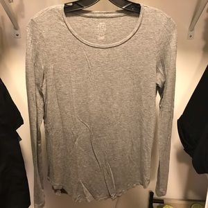 Aerie gray top